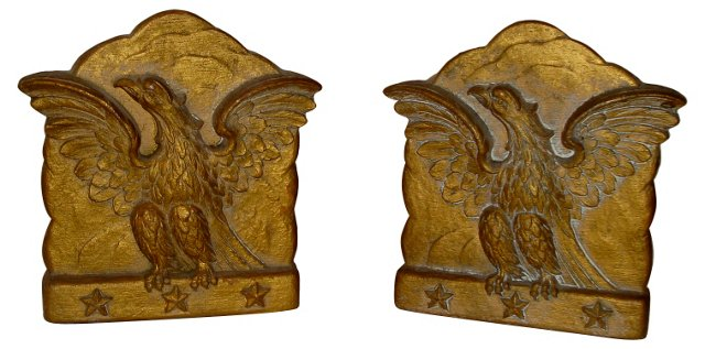 Federal Eagle Bookends