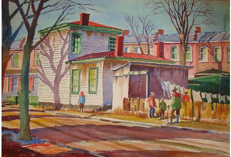 Jackson Ward Side Street, 1953