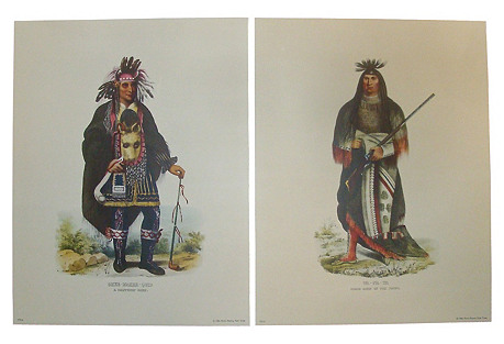 McKenney & Hall Prints, S/2