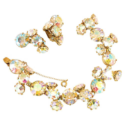 Vogue AB Crystal Bracelet Suite