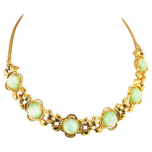 Pennino Celadon Cats-Eye Necklace