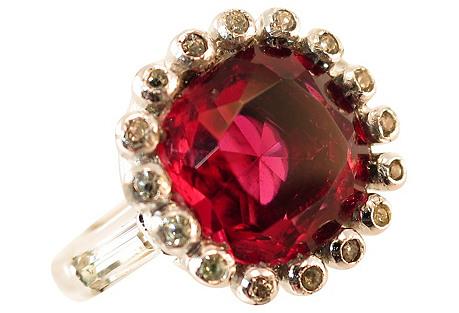 Ciner Garnet Ring