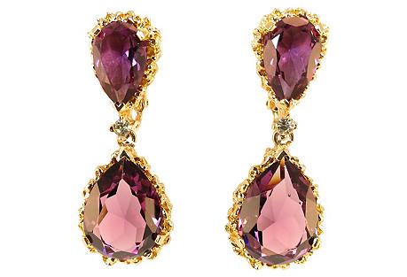 Panetta Amethyst Earrings