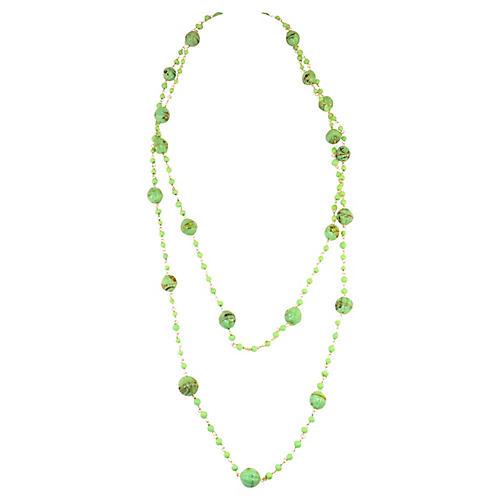 Murano Glass Extra-Long Sautoir Necklace