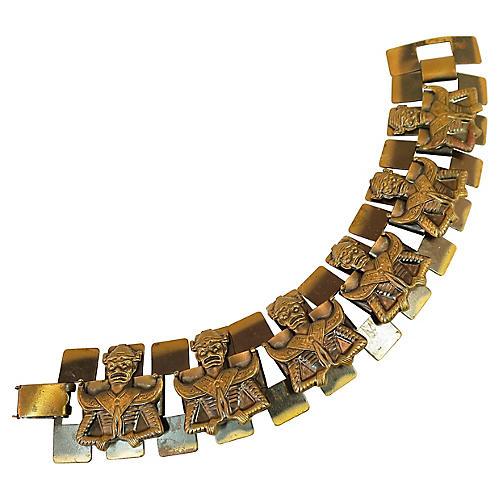 1950s Asian Warrior Bracelet