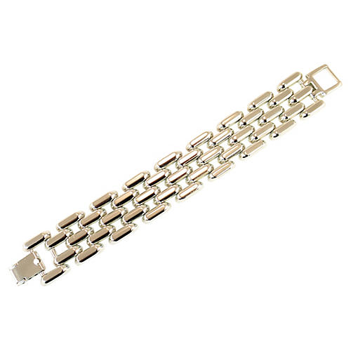 1950s Rivo Swiss Aluminum Link Bracelet