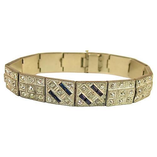 1920s ALLCO Deco Bracelet