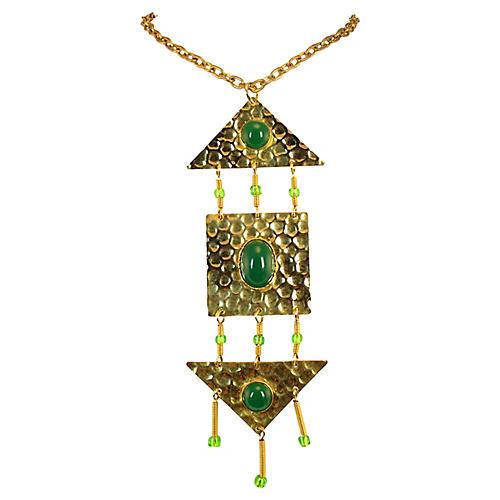 1960s Mid-Century Greek Necklace