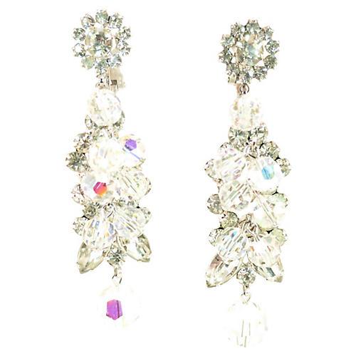 1960s Juliana Chandelier Earrings