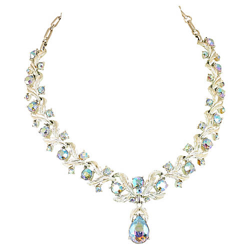 Coro Aurora Borealis Necklace, 1950s