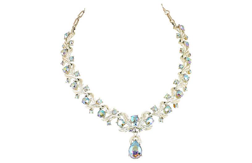 Coro Aurora Borealis Necklace, 1950s