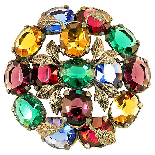 1930s Little Nemo Jewel Tones Brooch