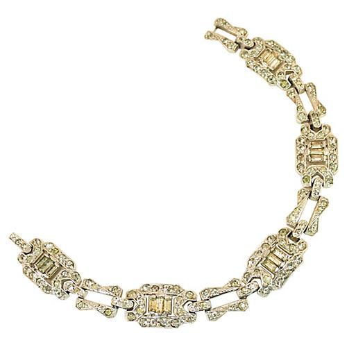 1930s KTF Trifari Deco Bracelet