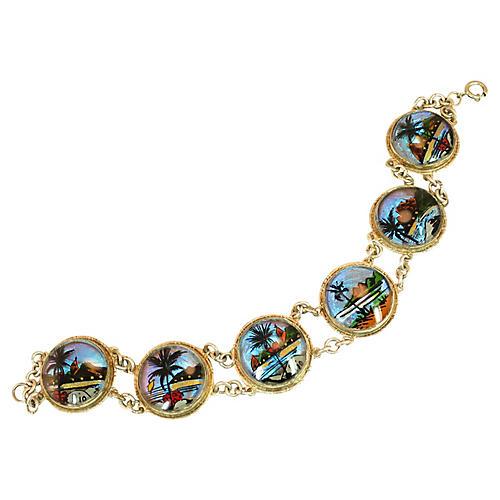 Rio Butterfly Wing Bracelet 1950s