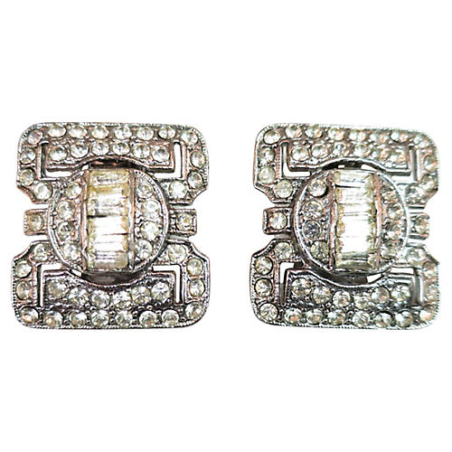 1950s Deco-Style Earrings