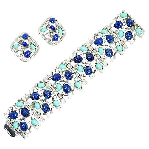 1960s Midcentury Bracelet Set