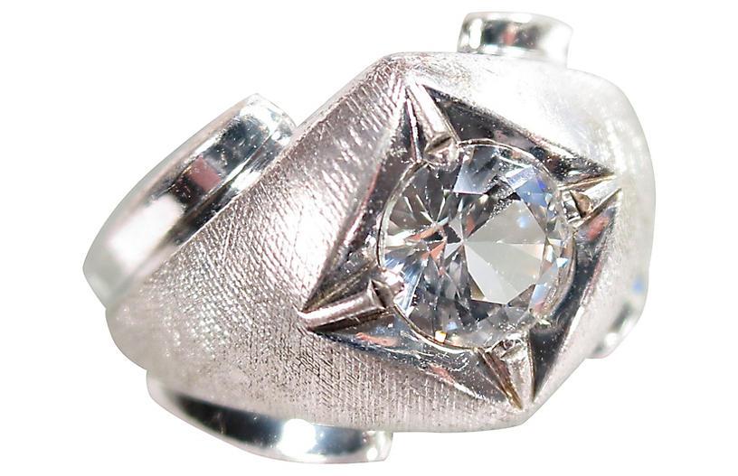 1940s C&C Sterling Ring