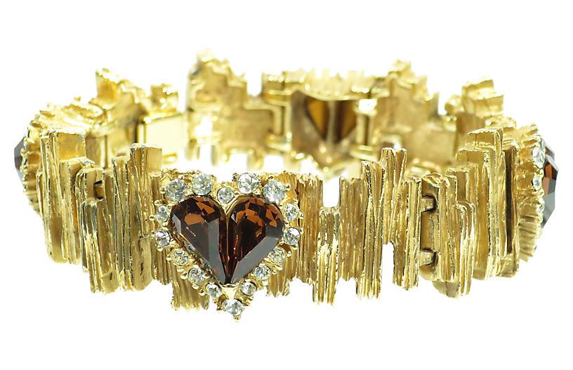 1960s Carven Paris Mid-Century Bracelet