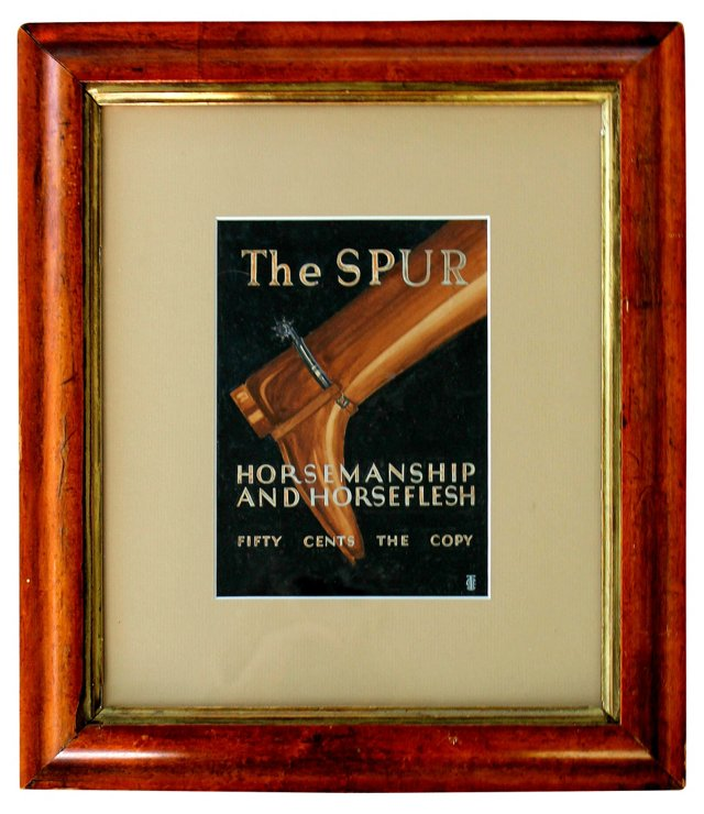 The Spur Magazine Cover