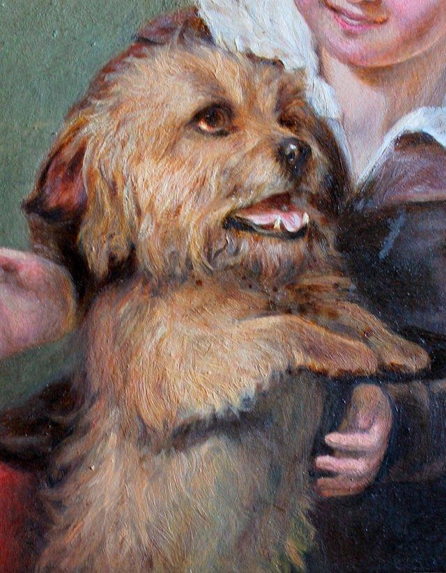 Little Brown Terrier