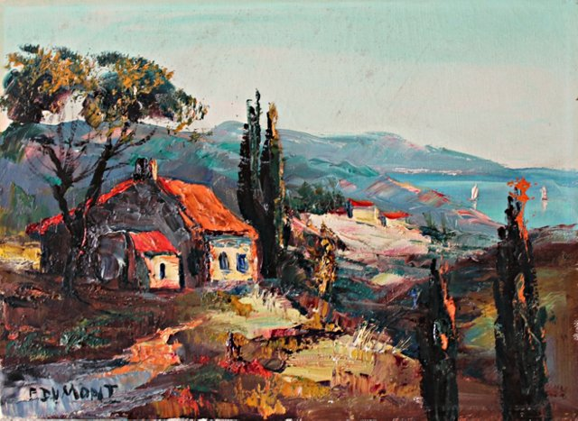 Cottage on a Hill, Provence
