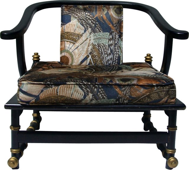 Lacquered Ming Chair