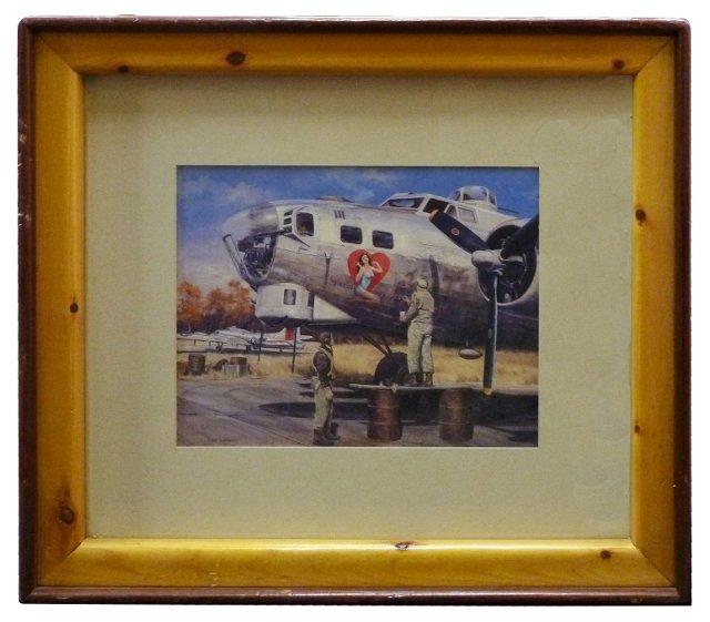American Royalty Aviation Print