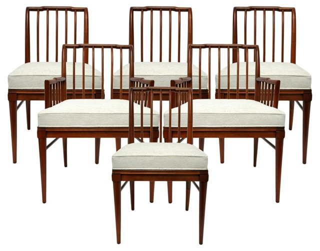 Widdicomb Dining Chairs,  S/6