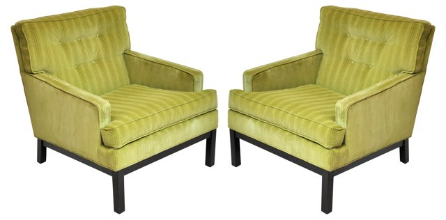 Chairs by Directional, Pair