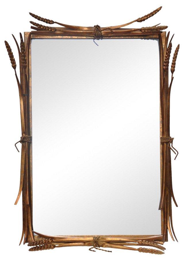 Italian Wheat Mirror