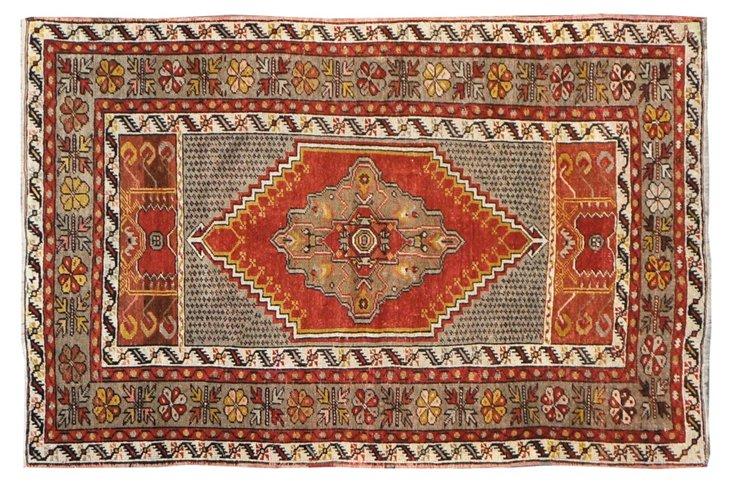 "Anatolian Rug, 5'4"" x 3'5"""