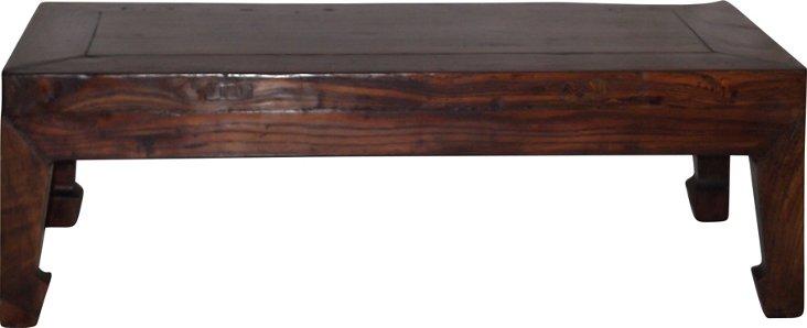 19th-C. Small Kang Table