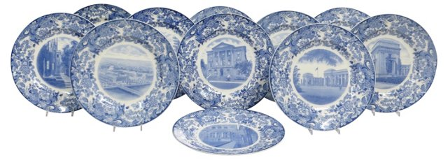 Wedgwood for M.I.T. Plates, S/11