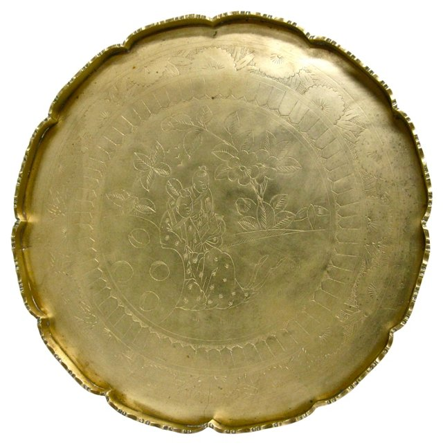 Chinese Serving Tray