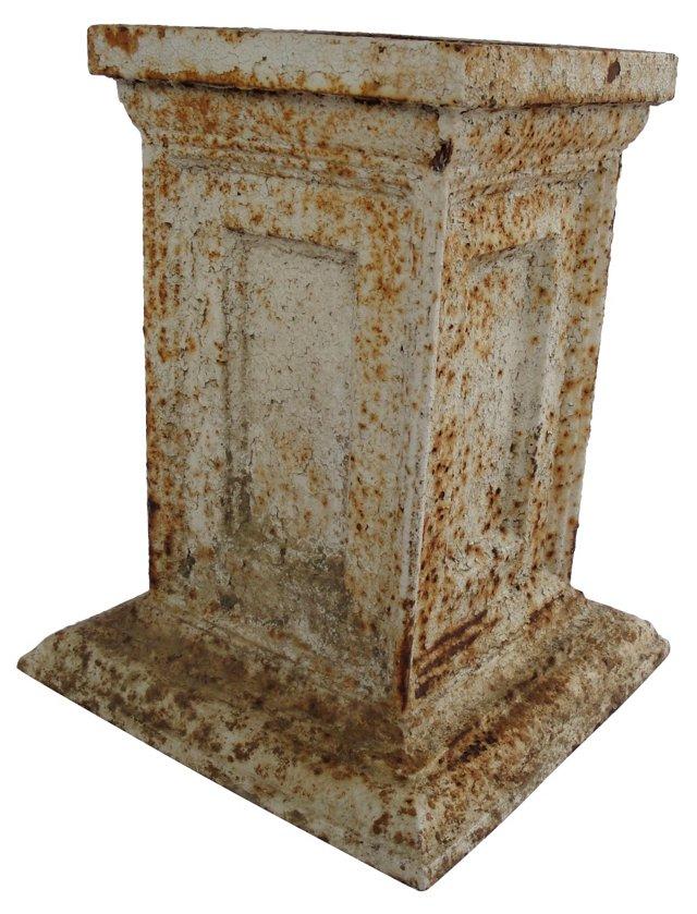 Cast-Iron Garden Plinth