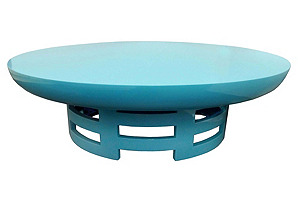 James Mont Lacquered Coffee Table