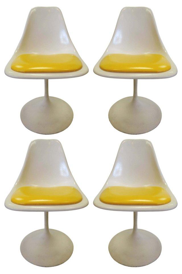 Saarinen-Style   Chairs, S/4