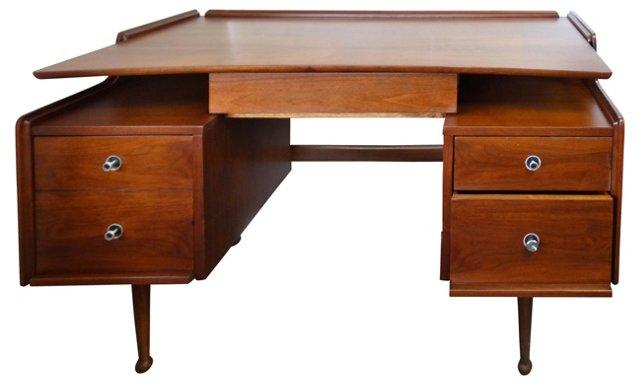 Midcentury Mainline Desk for Hooker