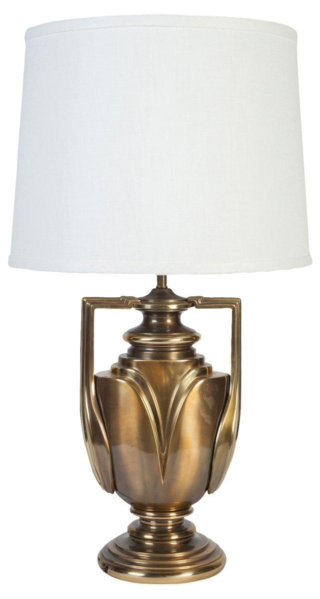 Brass Trophy-Style Lamp