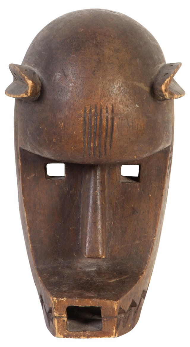 Early-20th-C. African Mask