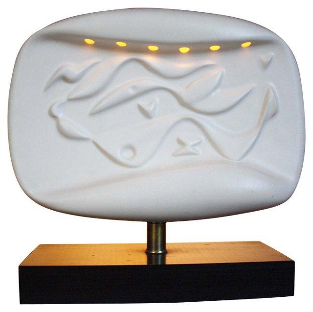 Mid-Century Modern Sculpture Lamp