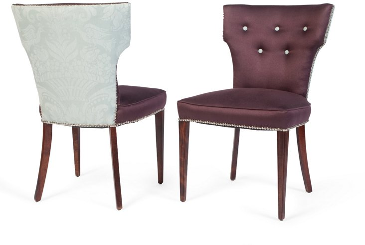 Captain Chairs, Pair