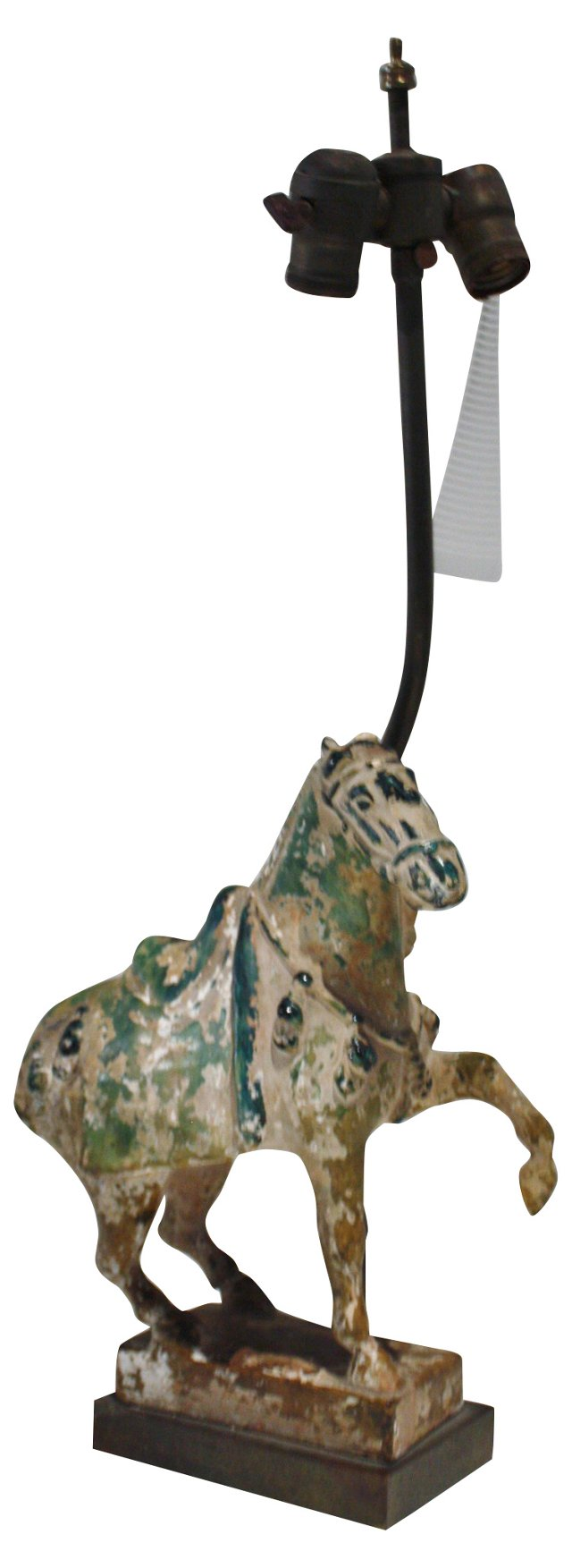 1920s Chinese Tang Horse Lamp
