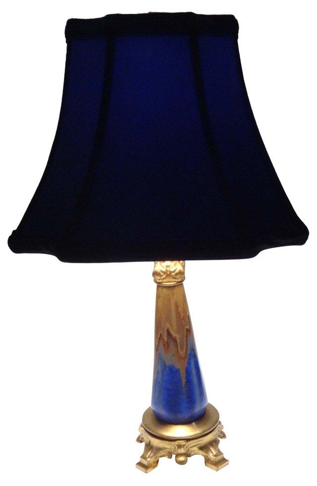 1920s Lamp & Shade