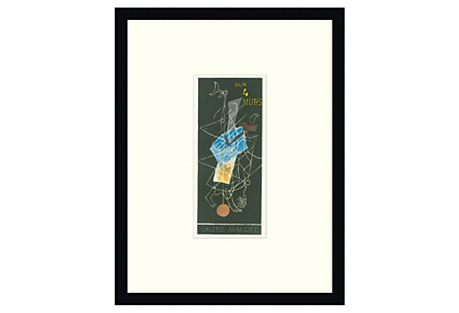 Sur 4 Murs I, Paris by Georges Braque