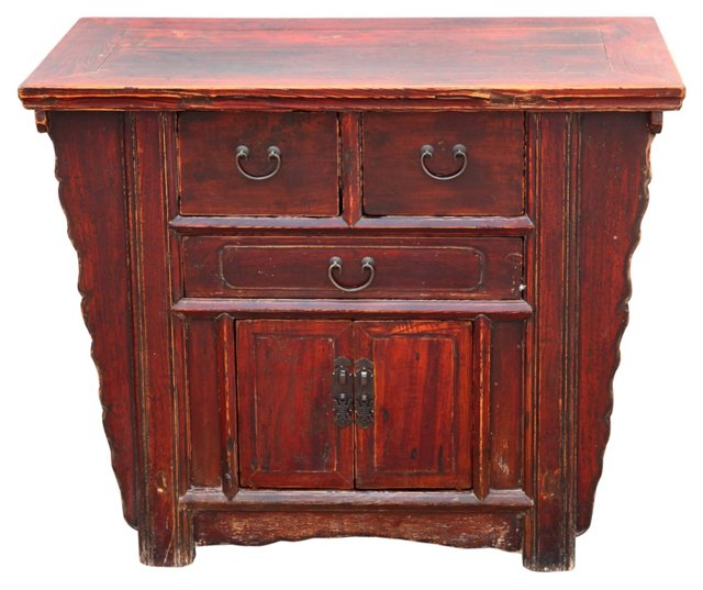 Chinese Elm  Cabinet