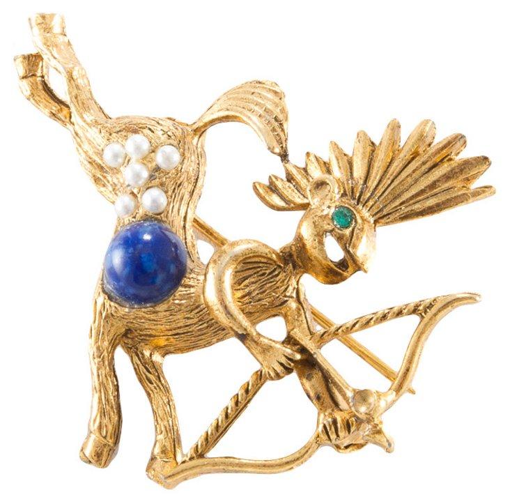 Centaur Brooch
