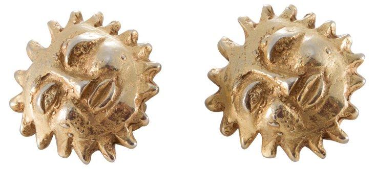 DKNY Sun Earrings