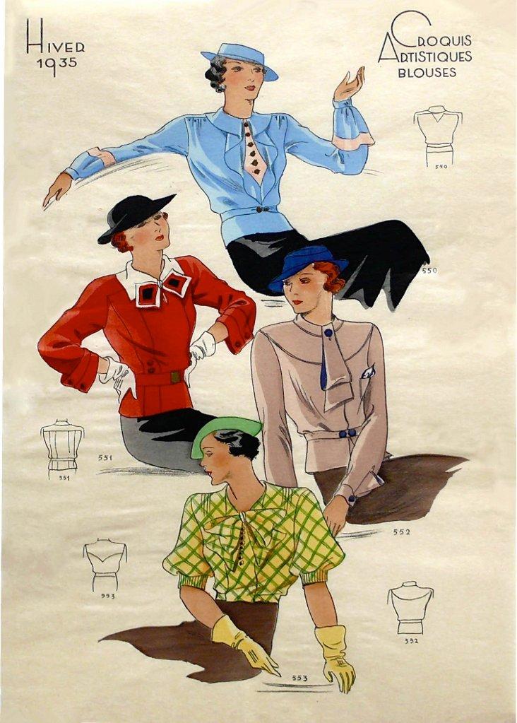 Winter Fashions, 1935