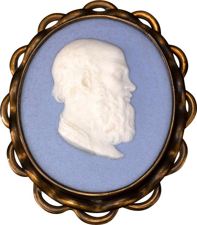 Medallion of Aristippus of Cyrene